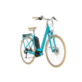 Cube Elly Ride Hybrid 400 Easy Entry Aqua'n'Orange